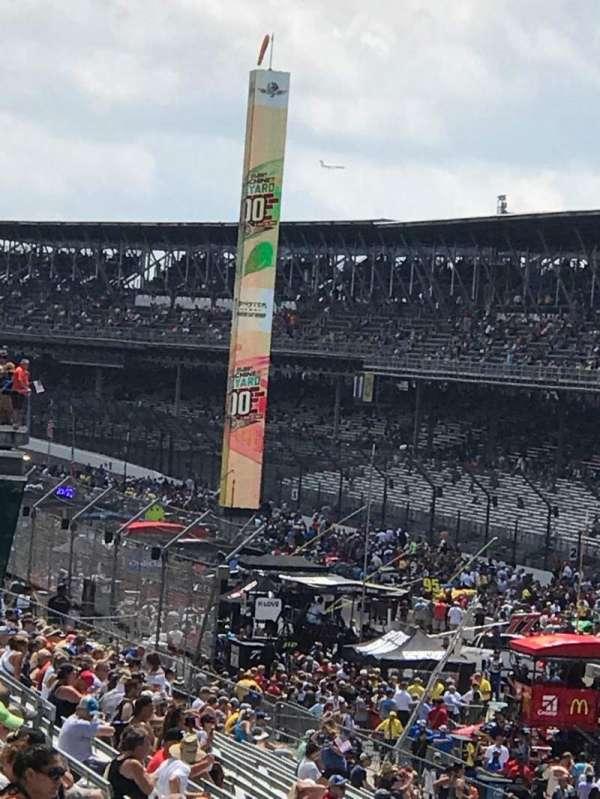 Indianapolis Motor Speedway, secção: 50, fila: DD, lugar: 3