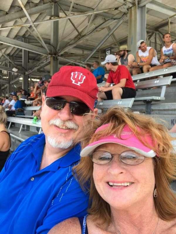 Indianapolis Motor Speedway, secção: 50, fila: GG, lugar: 2