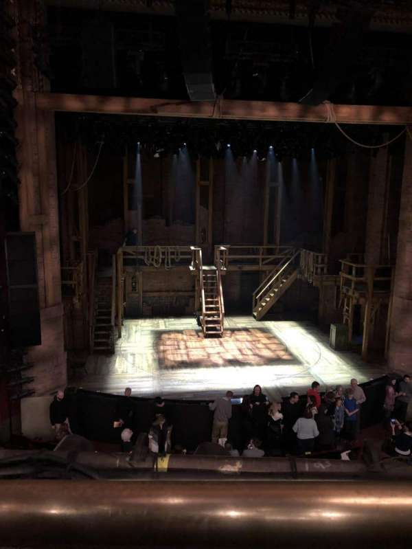 CIBC Theatre, secção: Mezzanine LC, fila: A, lugar: 309