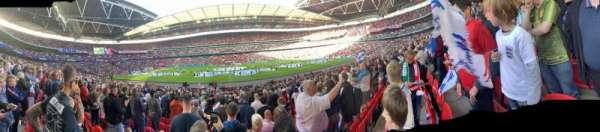 Wembley Stadium, secção: 122, fila: 22, lugar: 318