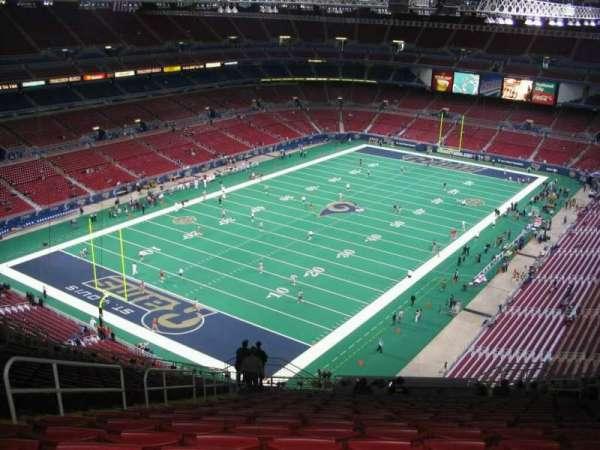 The Dome at America's Center, secção: 421