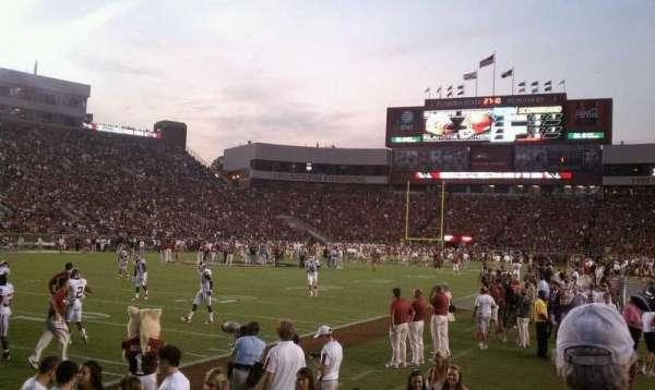 Bobby Bowden Field at Doak Campbell Stadium, secção: 14, fila: 1