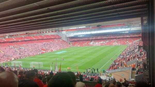 Anfield, secção: 208, fila: 59, lugar: 2