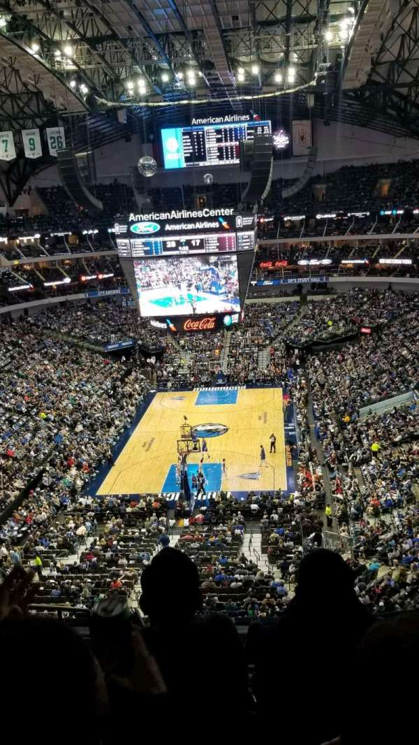 American Airlines Center, secção: 334, fila: D, lugar: 13