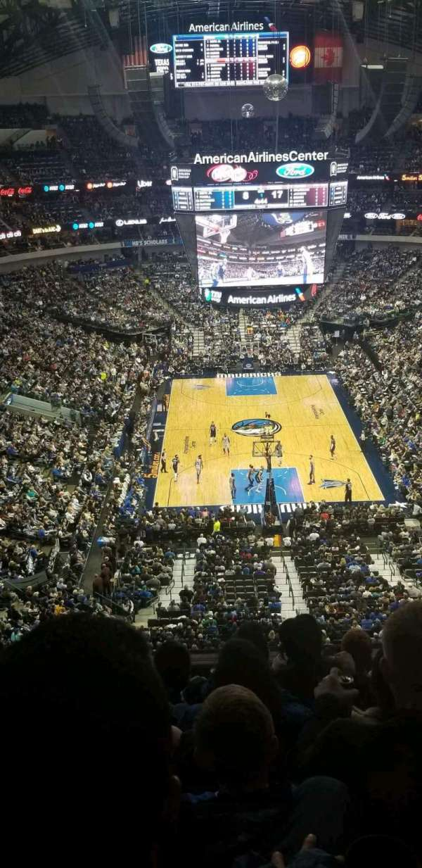 American Airlines Center, secção: 318, fila: G, lugar: 17