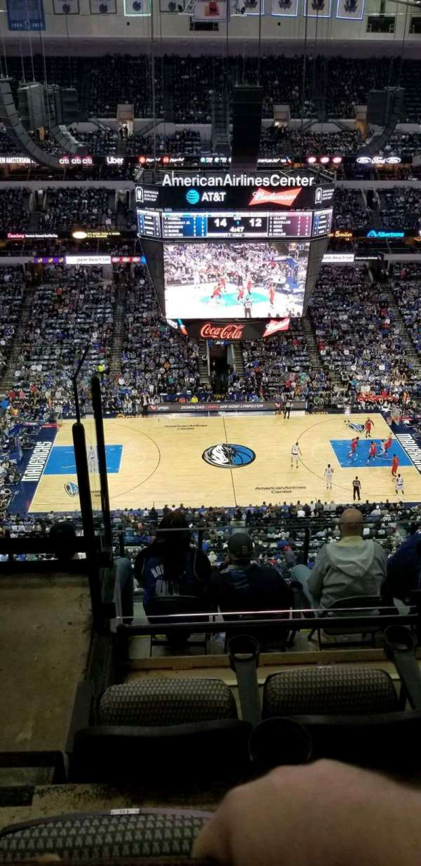 American Airlines Center, secção: 310, fila: H, lugar: 15
