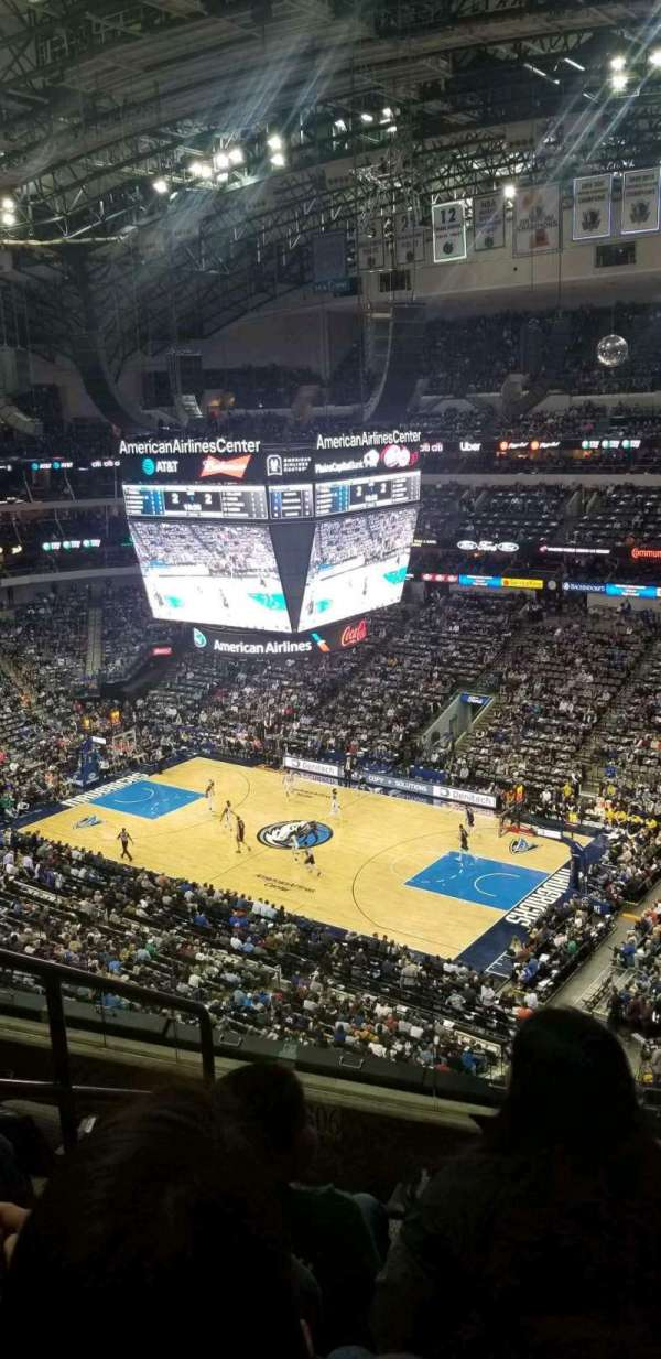 American Airlines Center, secção: 306, fila: E, lugar: 13