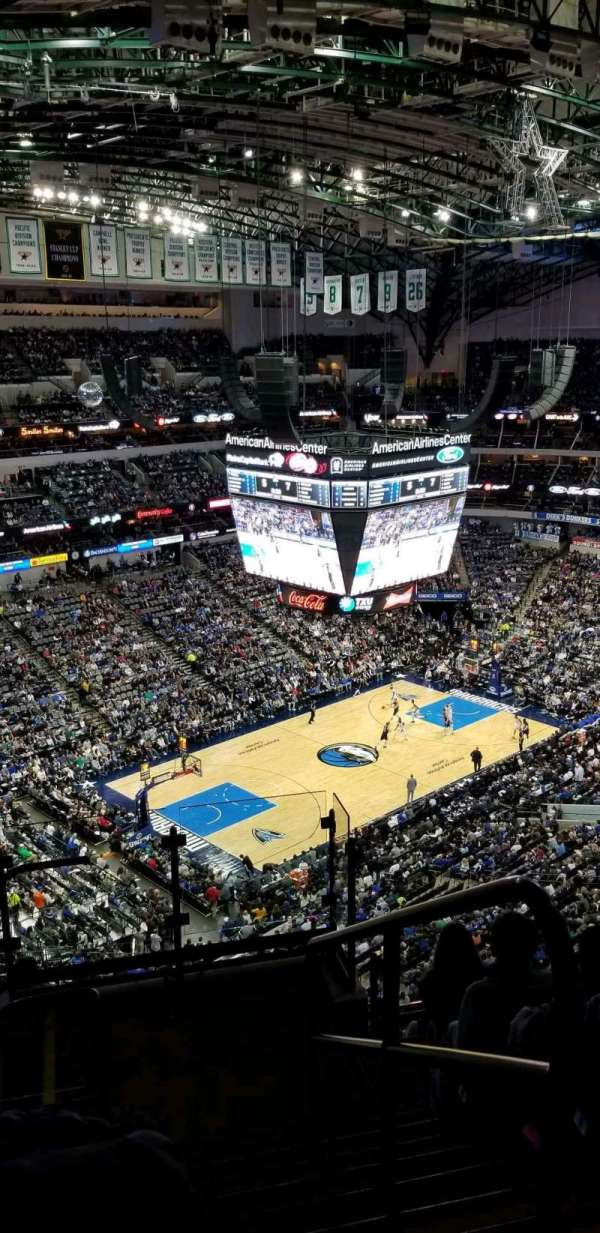 American Airlines Center , secção: 331, fila: L, lugar: 1