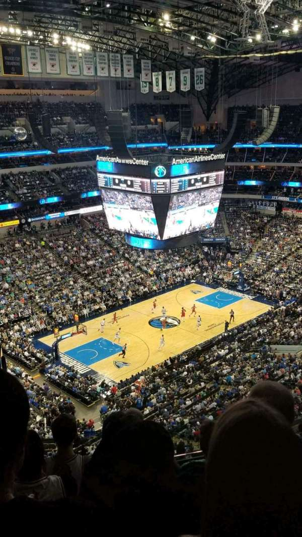 American Airlines Center, secção: 331, fila: k, lugar: 23