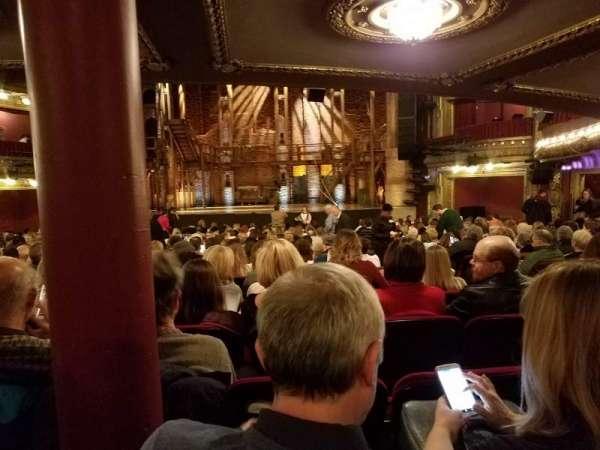 CIBC Theatre, secção: Orchestra RC, fila: Y, lugar: 117