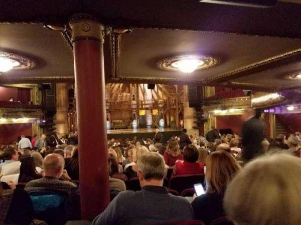 CIBC Theatre, secção: Orchestra RC, fila: Y, lugar: 116