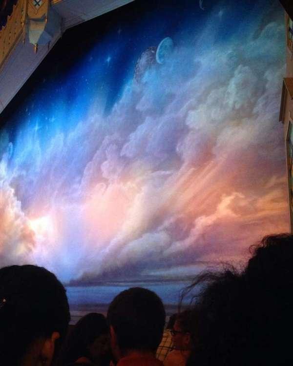 Eugene O'Neill Theatre, secção: Orchestra L, fila: A, lugar: 9