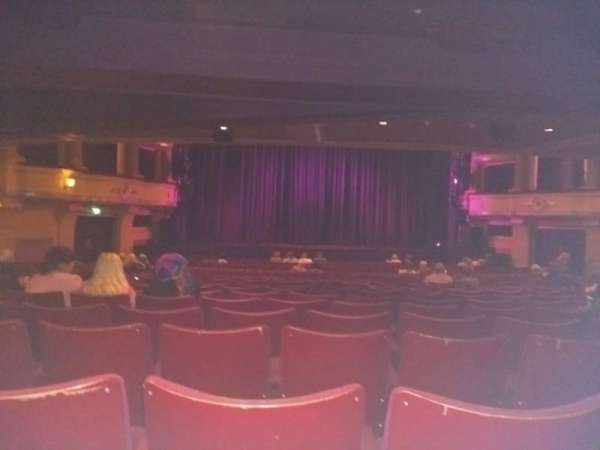 Birmingham Hippodrome, secção: Rear Stalls, fila: X, lugar: 32