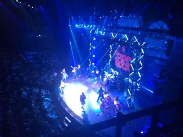 Gillian Lynne Theatre, secção: Dress Circle, fila: B, lugar: 9