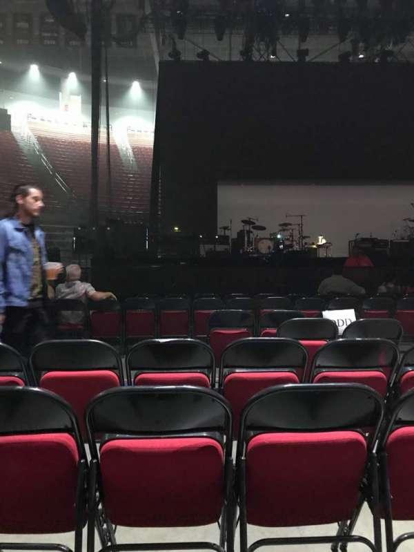 Viejas Arena, secção: Floor DDD, fila: 6, lugar: 4