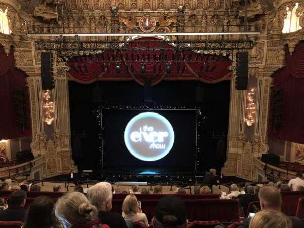 Nederlander Theatre (Chicago), secção: Balcony C, fila: J, lugar: 307