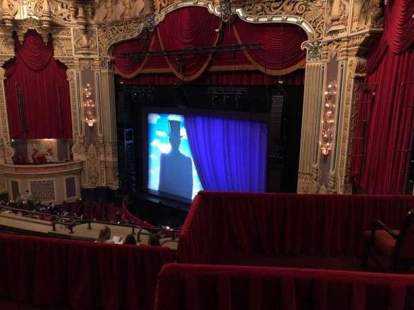 Nederlander Theatre (Chicago), secção: Balcony FR, fila: F, lugar: 382
