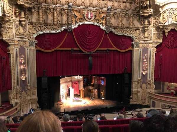 Nederlander Theatre (Chicago), secção: Balcony LC, fila: G, lugar: 331