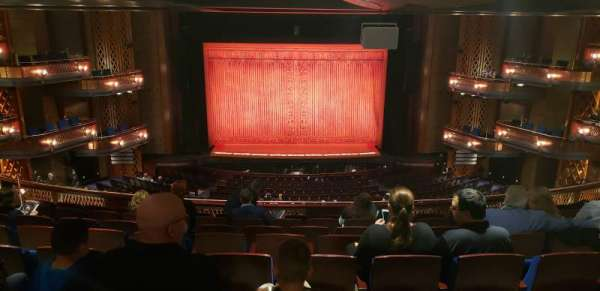 Walt Disney Theatre - Dr. Phillips Center, secção: Mezzanine C, fila: H, lugar: 114