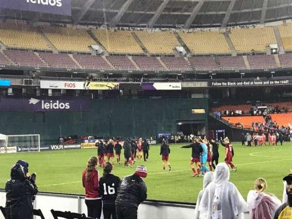RFK Stadium, secção: 231, fila: 1, lugar: 12