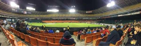 RFK Stadium, secção: 131, fila: 10, lugar: 1