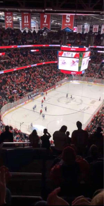 Capital One Arena, secção: 411, fila: K, lugar: 3