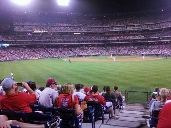 Citizens Bank Park, secção: 147, fila: 9, lugar: 21