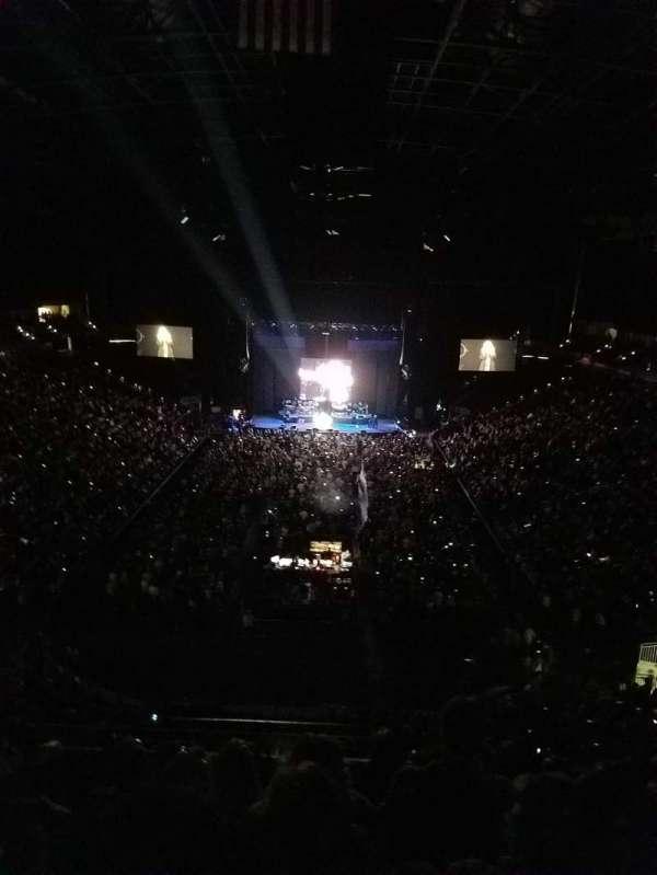 VyStar Veterans Memorial Arena, secção: 312, fila: F, lugar: 5