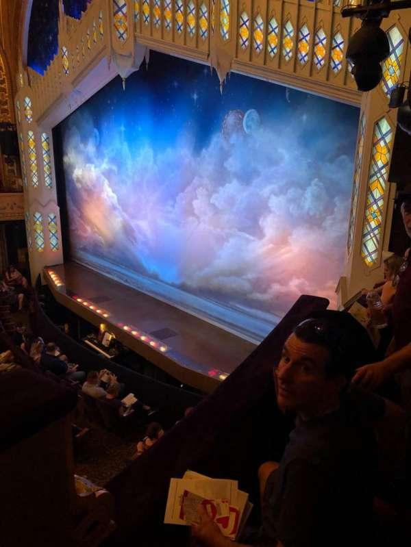 Eugene O'Neill Theatre, secção: Boxes Right, fila: C, lugar: 2