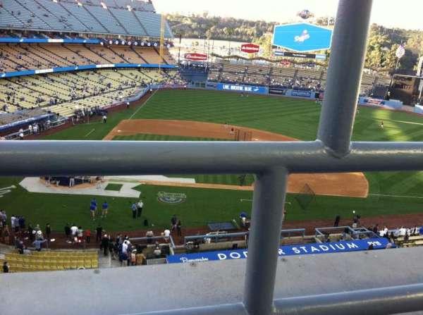 Dodger Stadium, secção: 10RS, fila: A, lugar: 19