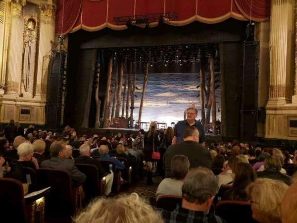 Citizens Bank Opera House, secção: Orchestra RC, fila: M, lugar: 4