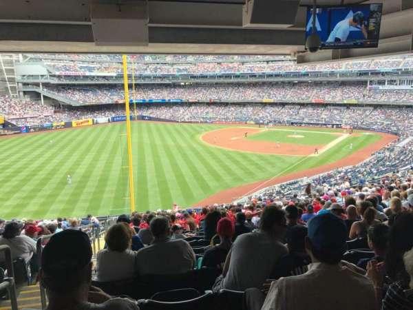 Yankee Stadium, secção: 232A, fila: 23, lugar: 17