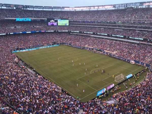 MetLife Stadium, secção: 306, fila: 5, lugar: 20