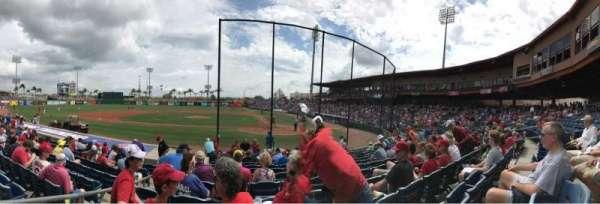 BayCare Ballpark, secção: 114, fila: 10, lugar: 12