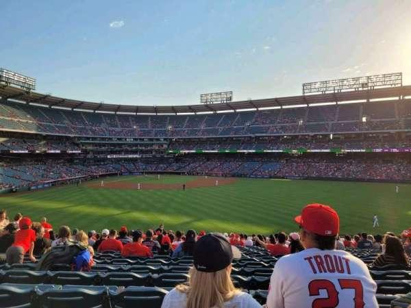 Angel Stadium, secção: 239, fila: Z, lugar: 7-9