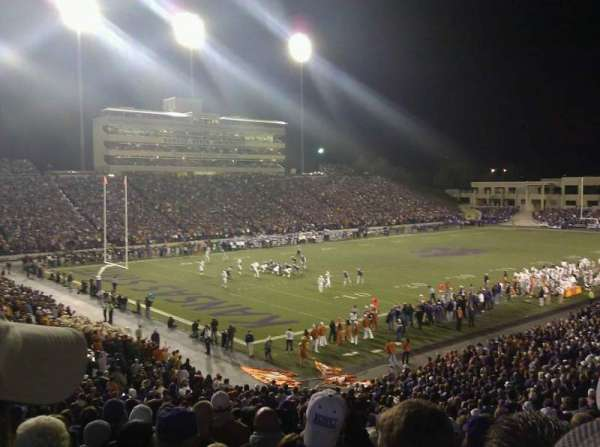 Bill Snyder Family Stadium, secção: 19, fila: 35, lugar: 23