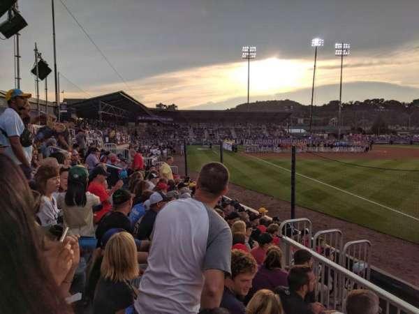 BB&T Ballpark at Historic Bowman Field, secção: 1, fila: 2, lugar: 1