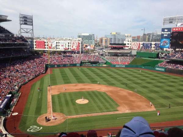 Nationals Park, secção: 317, fila: F, lugar: 11