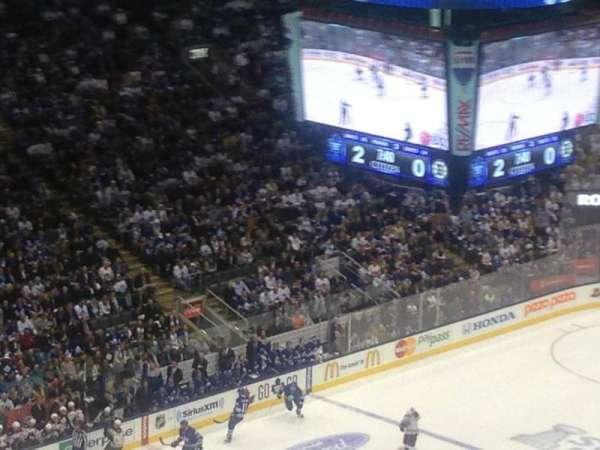 Scotiabank Arena, secção: 312, fila: 1, lugar: 20