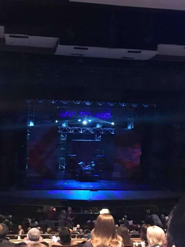 DeVos Performance Hall, secção: Mezzanine - Zone 2, fila: H, lugar: 36