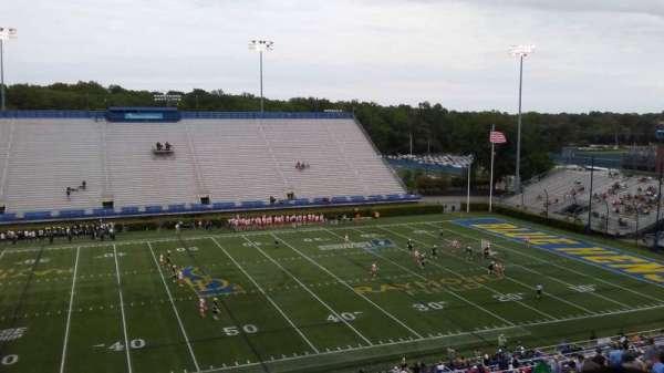 Delaware Stadium, secção: E, fila: PP, lugar: 1