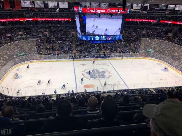 Scotiabank Arena, secção: 310, fila: 15, lugar: 4