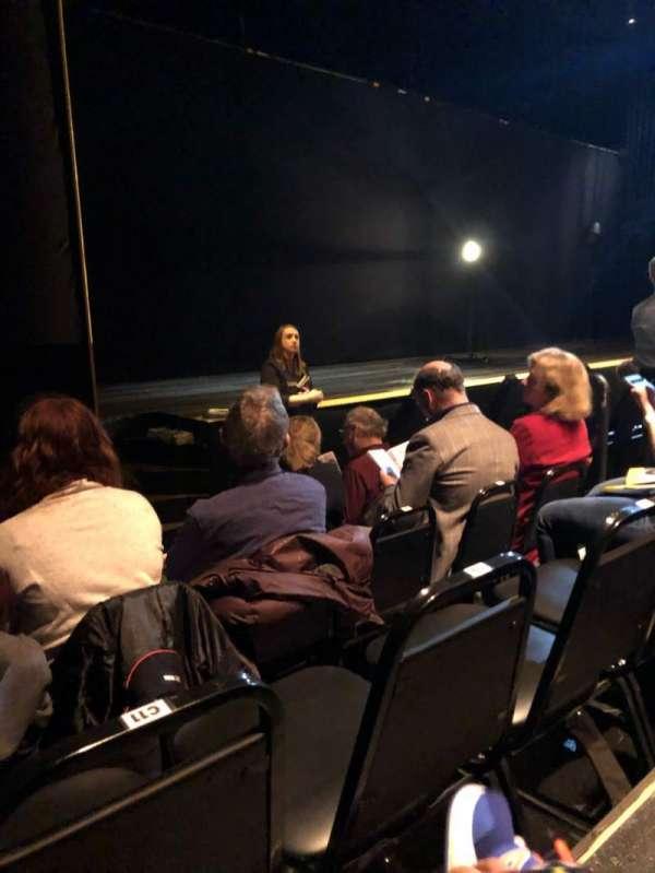 Daryl Roth Theatre, secção: Orchestra, fila: D, lugar: 13