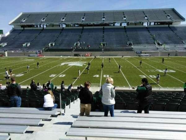 Spartan Stadium, secção: 23, fila: 18, lugar: 18