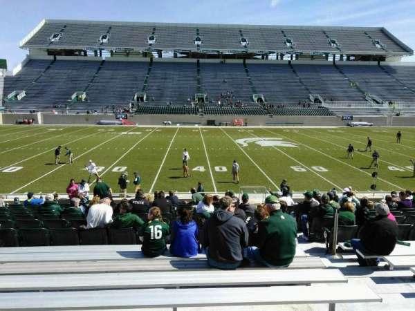 Spartan Stadium, secção: 24, fila: 20, lugar: 23