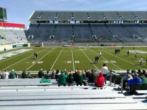 Spartan Stadium, secção: 25, fila: 19, lugar: 23