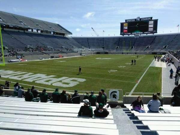 Spartan Stadium, secção: 29, fila: 17, lugar: 38