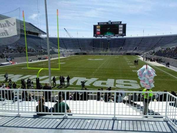 Spartan Stadium, secção: 30, fila: 19, lugar: 42