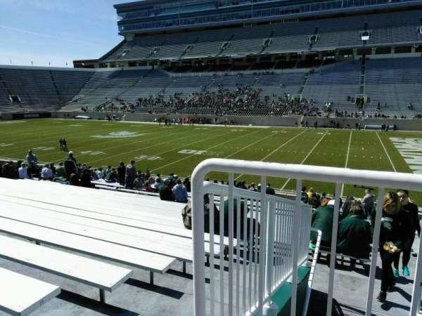 Spartan Stadium, secção: 6, fila: 27, lugar: 19