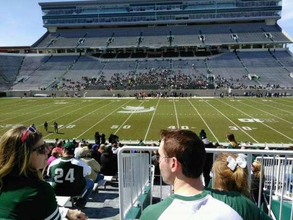 Spartan Stadium, secção: 8, fila: 29, lugar: 19